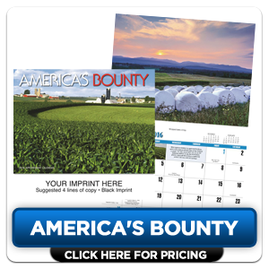 Personalized Calendars - America's Bounty!