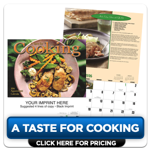 Personalized Calendars - A Taste for Cooking!