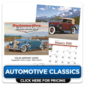 Personalized Calendars - Automotive Classics!