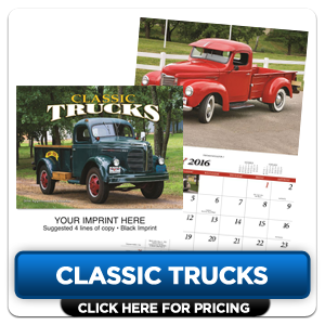 Personalized Calendars - Classic Trucks!