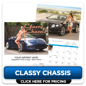 Custom Imprinted Calendars - Classy Chassis!