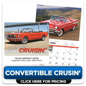 Personalized Calendars - Convertible Cruisin'!