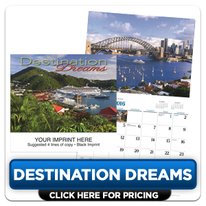 Personalized Calendars - Destination Dreams!
