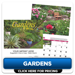 Custom Imprinted Calendar - Gardens!