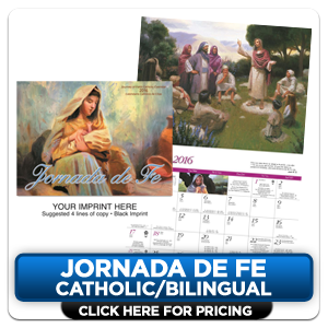 Personalized Calendars - Jornada de Fe!