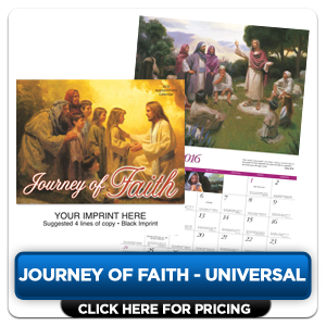 Personalized Calendars - Journey of Faith!