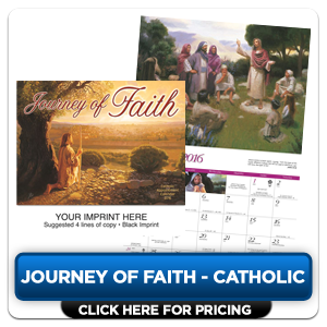 Personalized Calendars - Journey of Faith - Catholic!