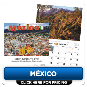 Personalized Calendars - Mexico!