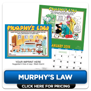 Custom Imprinted Calendar - Murphy's Law!