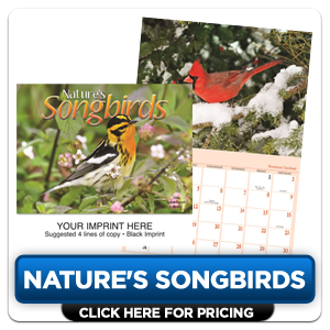 Personalized Calendars - Natures Songbirds!