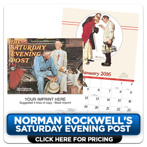 Custom Imprinted Calendars - Norman Rockwell!