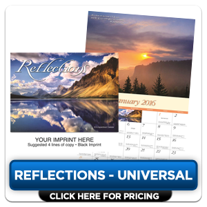 Custom Imprinted Calendar - Reflections!
