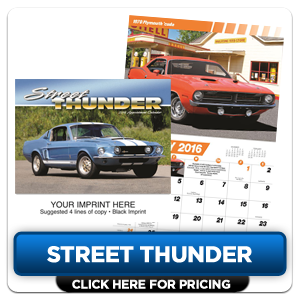 Custom Imprinted Calendars - Street Thunder!