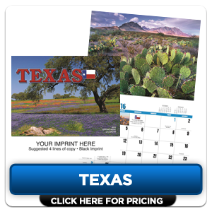 Personalized Calendars - Texas!
