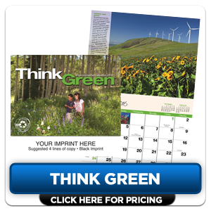 Personalized Calendars - Think Green!