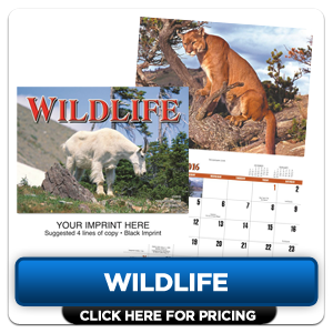 Custom Imprinted Calendar - Wildlife!