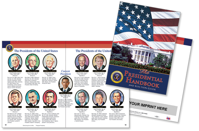 Custom Imprinted Flag Booklet - The American Flag Booklet #248152