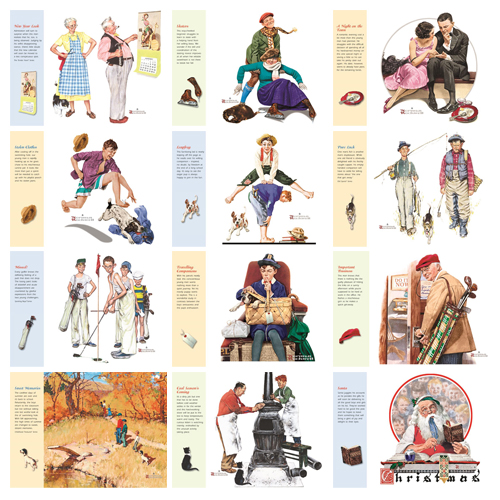Promotional Calendar - Norman Rockwell's Wonderful World #802
