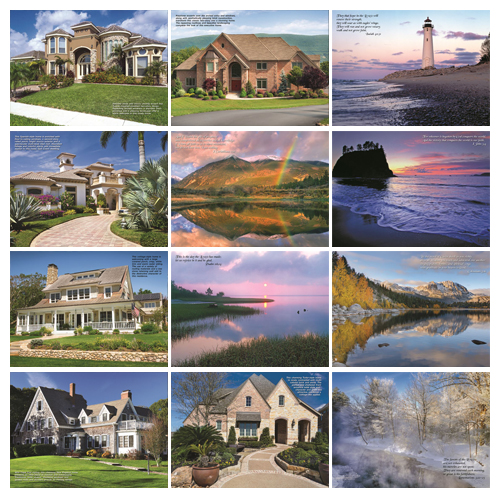 Personalized Calendar - Homes #813