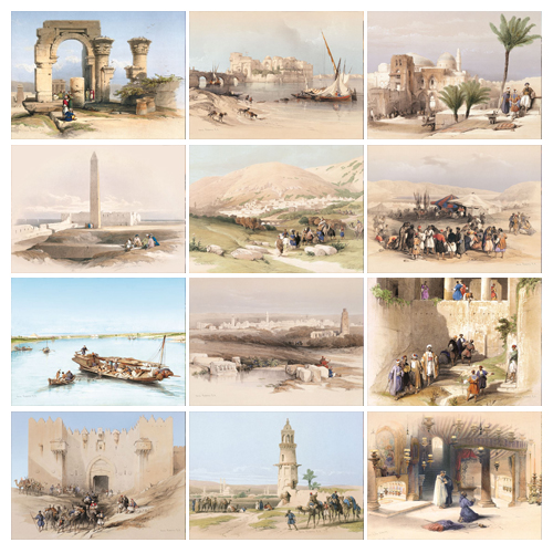 Personalized Religious Calendar - Art of the Holy Land-Universal #815