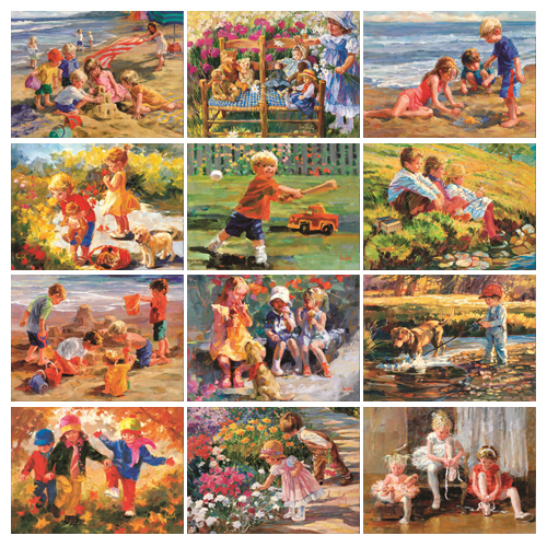 Personalized Calendar - Childhood Dreams #818