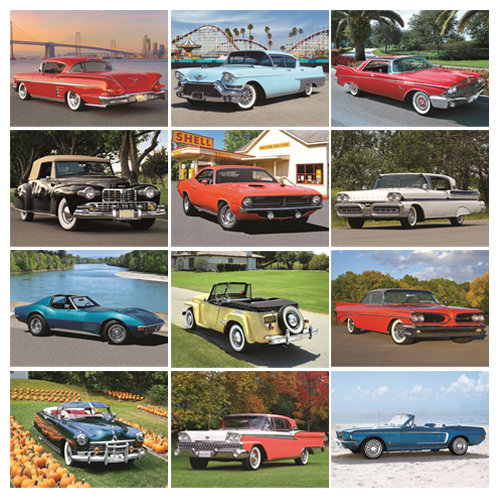 Personalized Car Calendar - Highway Memories #832
