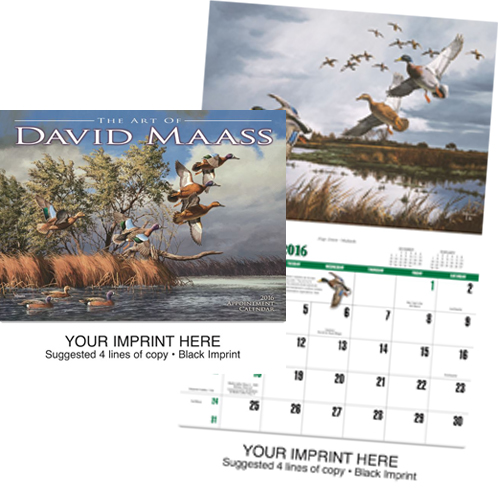 Custom Imprinted Calendar - David Maass #833