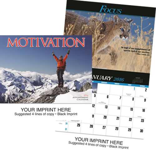 Custom Imprinted Motivational Calendar - Motivation #863